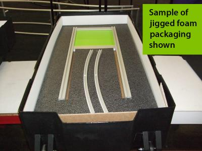 LT Flat Panel Shipping Case with Sample Packaging | Portable Display Ship Case
