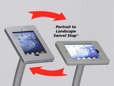 Rotate Swivel Stop Clamshell Frame | Trade Show Displays