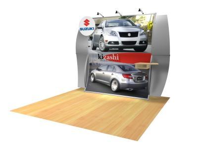 VK-1511 Lanora- Perfect 10 Trade Show Displays