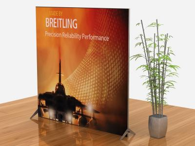 VK-1909 Segue Sunrise right view | Tension Fabric Displays