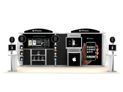 Custom Modular Hybrid Displays   VK-2044 20 Ft Visionary Designs