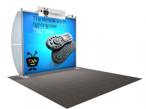 VK-1203 Sacagawea Tension Fabric Displays | Trade Show Displays