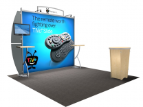 VK-1208 Sacagawea Tension Fabric Displays | Trade Show Displays