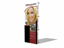 VBurst Pop Up Display | 3' V Burst Straight Frame