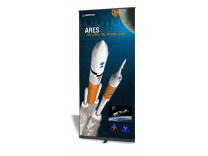 "39.5"" Pronto Banner Stand Replacement Graphic 