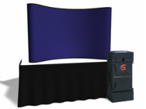 8 Ft Fabric Table Top | Trade Show Displays by ShopForExhibits