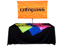 Table Top Displays | Compass 4 Lightweight Banner Stand