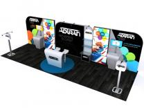 Custom Modular Hybrid Displays | DM-1049 30 Ft Visionary Designs