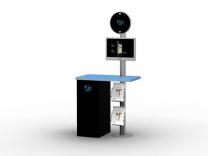 MOD-1226 Workstation   Counters, Pedestals, Kiosks, Workstations