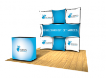 Pop Up Table Top Display | Express Kit D