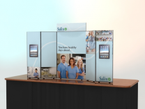 Trade Show Display Accessories | Intro Kit 3 Table Top Displays