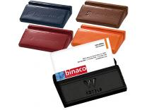 Promotional Giveaway Notes & Office Desktop | Soho Desk Business Card Holder