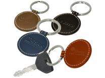 Promotional Giveaway Gifts & Kits | Limelight Round Leather Key Fob