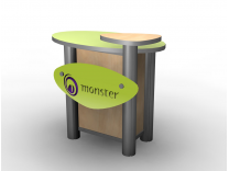MOD-1184 Counter | Counters Kiosks Pedestals & Workstations