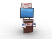 MOD-1249 Workstation | Counters Pedestals Kiosks & Workstations
