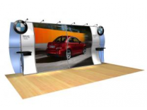 Anna Bella - Perfect 20 Trade Show Displays | Custom Modular Hybrid Displays
