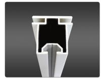 Horizontal Profile Metal | Tension Fabric Displays