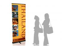 Quickscreen 39.5 in Retractable Banner Stands | Banner Stands