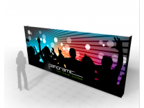 Panoramic Wall 20A | Trade Show Displays