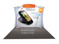 Sacagawea Replacement Arched Header Graphic | Trade Show Displays