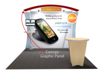 Trade Show Displays | Sacagawea Display Replacement Arched Canopy Graphic