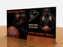 Tension Fabric Display Graphics | VK-2307 SEGUE Sunrise