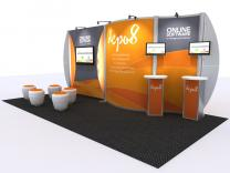 VK-2934 20 Ft Visionary Designs | Trade Show Displays