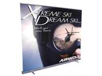 Jumbo Wide Economy Retractable Banner Stands | Trade Show Displays