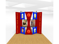 Xpressions Push Thru Pop Up Displays | Trade Show Displays