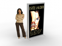 Backlit Kiosk Banner Stands | Trade Show Displays