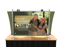 Sacagawea Table Top Displays | Trade Show Displays by ShopForExhibits