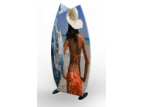 Aero Tension Fabric Banner Stands   Trade Show Displays