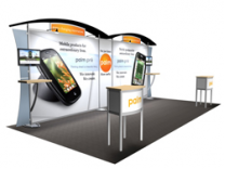 Trade Show Displays | Sacagawea Custom Modular Hybrid Displays