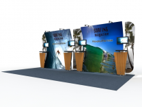 Magellan Miracle Custom Modular Hybrid Displays | Trade Show Exhibits