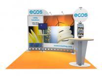 VK-1099 10 Ft Visionary Designs    Trade Show Displays