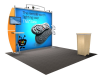 VK-1210 Sacagawea Tension Fabric Displays | Trade Show Displays