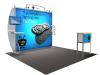 VK-1211 Sacagawea Tension Fabric Displays   Trade Show Displays