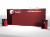 20 Ft Straight Pop Up Displays | Pop Up Display