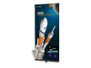 "39.5"" Pronto Retractable Banner Stands 