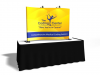 Table Top Displays | TF-405 Aero Tension Fabric Table Top Display