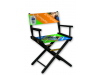 Portable Furniture | Director's Chair - Dye Sublimation Seat & Back