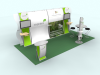 Fiona Mae - Perfect 20 Trade Show Displays | Custom Modular Hybrid Displays