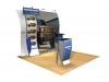 Issa - Perfect 10 Trade Show Displays | Custom Modular Hybrid Displays