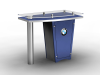 LTK-1141 Counter | Counters Kiosks Pedestals & Workstations