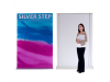 """60"""" Silver Step Retractable Banner Stand 