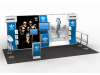 Dolores Joyce - Perfect 20 Trade Show Displays | Custom Modular Hybrid Displays