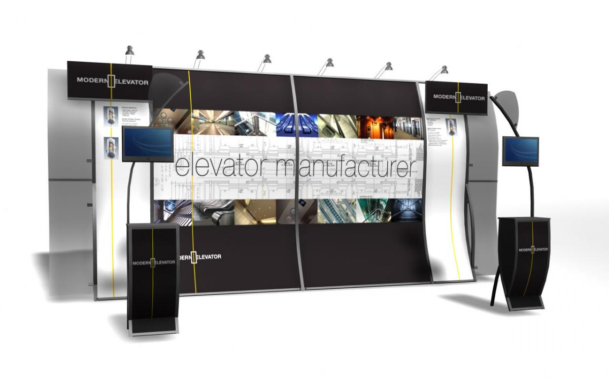 Exhibition Stand Replacement Graphics : Design replacement graphics