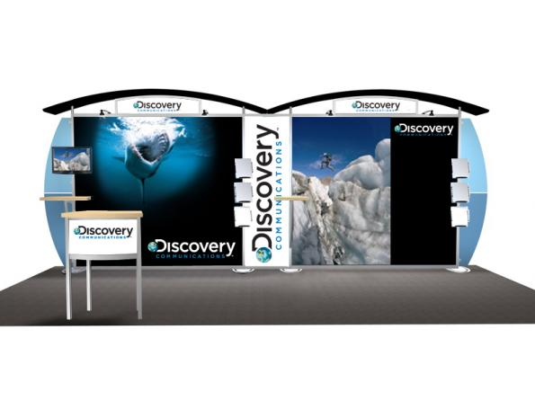 Discovery Trade Show Display Exhibit