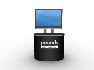 Custom Modular Trade Show Display Counter