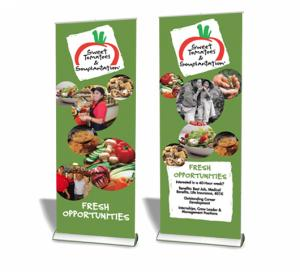 Quickscreen Retractable Banner Stands